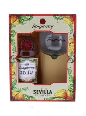 Tanqueray Flor De Sevilla Gin 41.3% 70cl Glas Giftpack