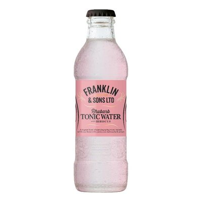 Franklin & Sons Rhubarb Tonic with Hibiscus 20cl