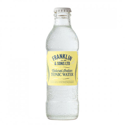 Franklin & Sons Natural Indian Tonic Water 4x20cl