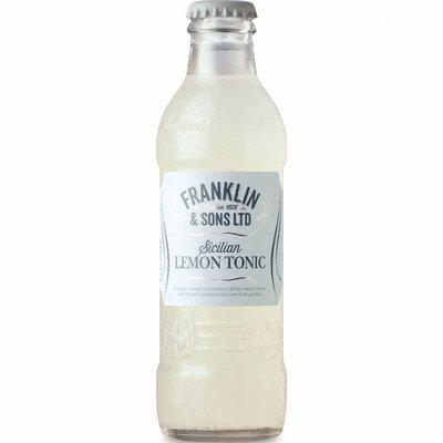 Franklin & Sons Sicilian Lemon Tonic Water 20cl