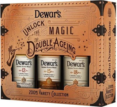 Dewar's Whisky Variety Collection 3x20cl Giftbox