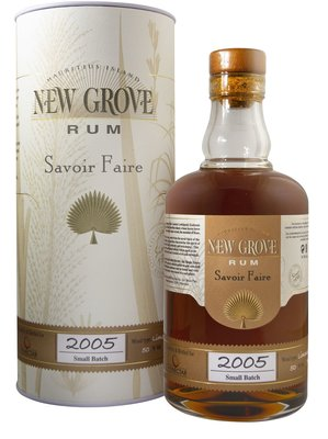 New Grove Small Batch 2005 Rum 70cl 50%