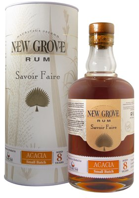 New Grove Small Batch Acacia 8 Years Rum 70cl 47%