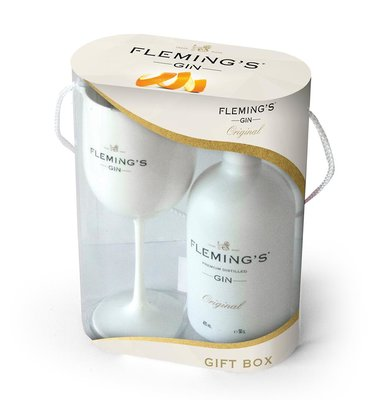 Fleming's Lowlands Dry Gin 42.1% 50cl Giftpack