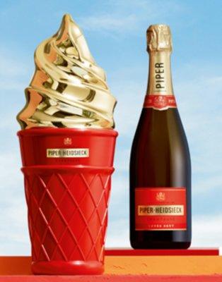 Piper Heidsieck Cuvée Brut 75cl Ice Cream Giftbox