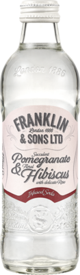 Franklin & Sons Pomegranate & Hibiscus Infused Soda 275ml