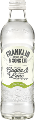 Franklin & Sons Guava & Lime Infused Soda 275ml