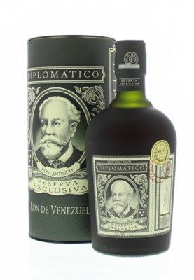 Diplomatico Reserva Exclusiva 12 Years Rum 40% 70cl