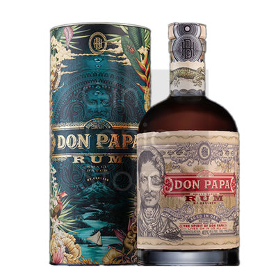 Don Papa Rum 7 Years 70cl Cosmic Canister Giftbox 2020