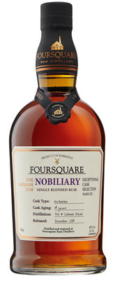 Foursquare Nobiliary 14 Years Single Blended Rum 62% 70cl