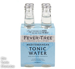Fever-Tree Mediterranean Tonic Water 4x200ml