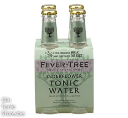 Fever-Tree Elderflower Tonic Water 4x200ml