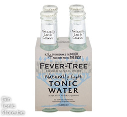 Fever-Tree Light Tonic Water 4x200ml