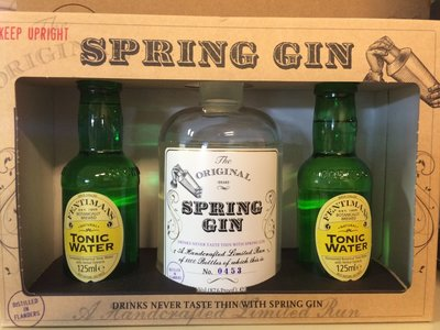 Spring Gin Original 50cl Giftpack + 2 Fentimans tonic