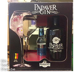 Papaver Gin 70cl + glas & tonic Giftpack