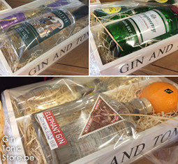 Giftpack Gin Tonic Tray