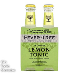 Fever-Tree Lemon Tonic Water 4x200ml