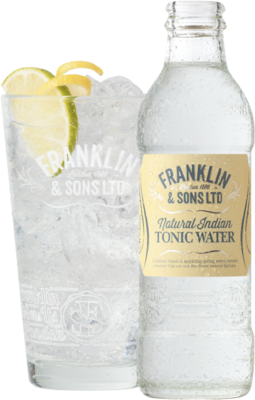 Franklin & Sons Natural Indian Tonic Water 20cl