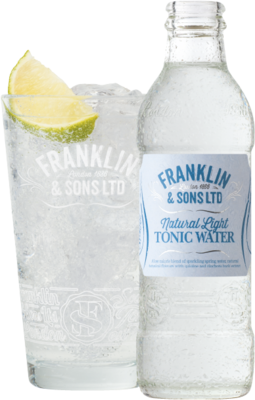 Franklin & Sons Natural Light Tonic Water 20cl