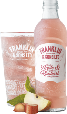 Franklin & Sons Apple & Rhubarb 275ml