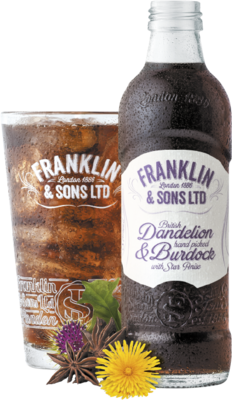 Franklin & Sons Dandelion & Burdock 275ml
