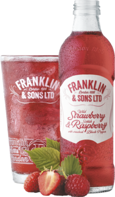 Franklin & Sons Strawberry & Raspberry 275ml