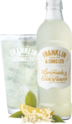 Franklin & Sons Lemonade & Elderflower 275ml