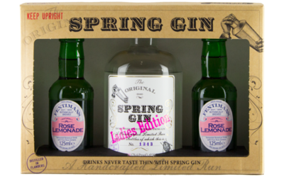 Spring Gin Ladies Edition 50cl Giftpack + 2 Fentimans tonic