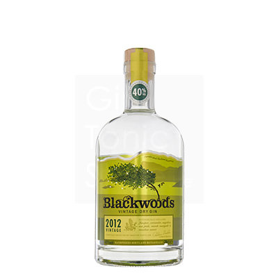 Blackwoods Dry Gin 2012 70cl