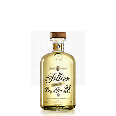 Filliers Barrel Aged Dry Gin 28 50cl