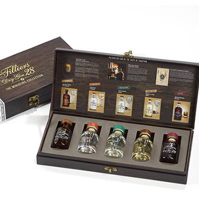 Filliers Miniatures Collection Box 5x5cl