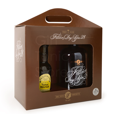Filliers Classic Dry Gin 28 50cl + Tonic Giftpack