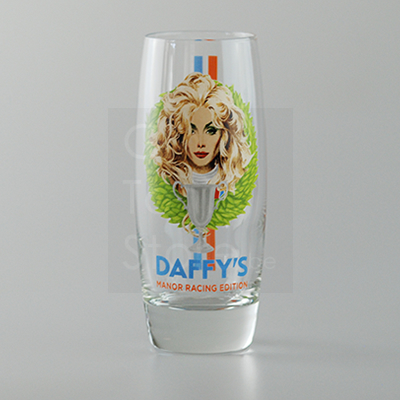 Daffy's Manor Racing Hi Ball Glass