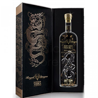 Royal Dragon Vodka Imperial 75cl Luxebox