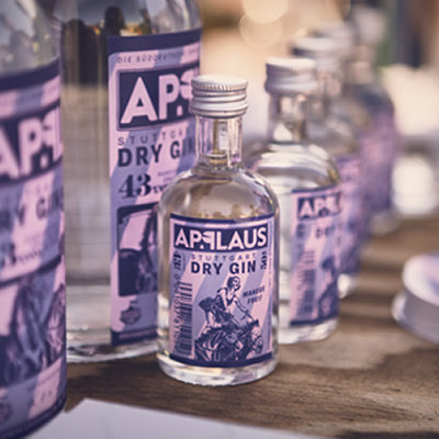 Applaus Stuttgart Dry Gin Mini 5cl