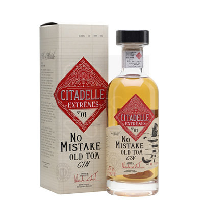 Citadelle Extremes No1 No Mistake Old Tom Gin 70cl