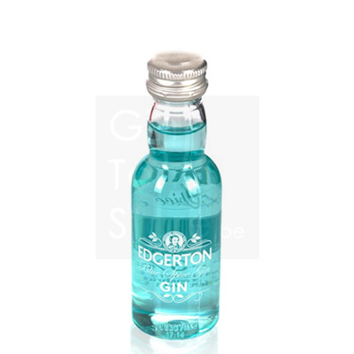 Edgerton Blue Spice Gin Mini 5cl