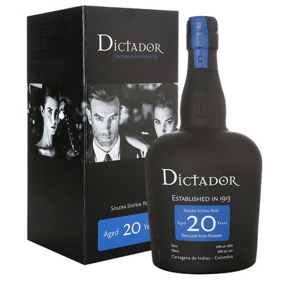 Dictador Rum 20 Years 70cl