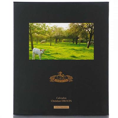 Christian Drouin Fine Calvados 35cl giftbox + 2 glazen