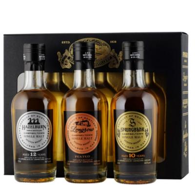 Springbank Whisky Distillery Giftpack 3x20cl