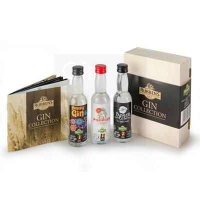 Rubbens Mini Gin Collection Box 3x4cl