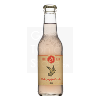 Three Cents Pink Grapefruit Soda 20cl