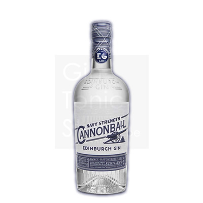 Edinburgh Navy Strength Canonball Gin 70cl