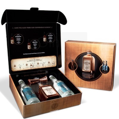 Copperhead Gin Jigger Giftbox