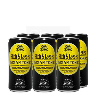 Fitch & Leedes Indian Tonic 6x20cl Blik