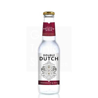 Double Dutch Pomegranate & Basil 20cl