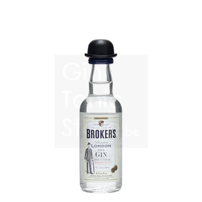 Broker's Gin Mini 5cl