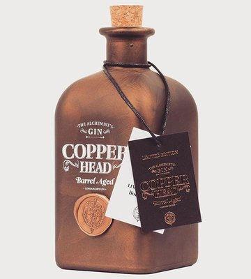 Copperhead Limited Edition Barrel Aged Gin 50cl