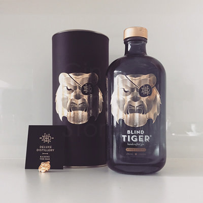 Blind Tiger Piper Cubeba Gin 50cl Giftpack (koker)