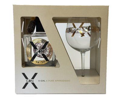 X-Gin 50cl Giftpack